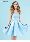 Clarisse Semi-Sweetheart Homecoming Dress 3905 | 4 Colors