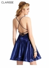 Clarissee Homecoming 2019 Satin Cocktail Dress 3931| 3 Colors