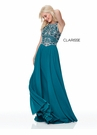 Clarisse Dress 3806 Jeweled Chiffon Prom Gown | 3 Colors | Prom 2019