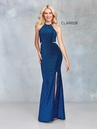 Clarisse Dress 3789 Halter Glitter Gown   4 Colors   Prom 2019