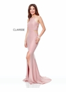 Clarisse Dress 3789 Halter Glitter Gown | 4 Colors | Prom 2019