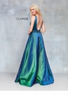 Clarisse Dress 3859 Iridescent Green Ball Gown | Prom 2019