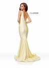 Clarisse Dress 3844 Simple Rouched Evening Gown | Prom 2019