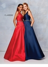 Clarisse Dress 3742 Mikado Ball Gown | 6 Colors | Promgirl.net