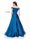 Clarisse Dress 3752 Textured Organza Ball Gown | 2 Colors | Prom 2019