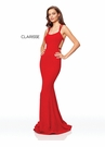 Clarisse Dress 3839 Strappy Red Prom Gown | Prom 2019