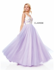 73f6cbef5c Clarisse Dress 3768 Satin Embroidery Ball Gown