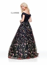 Clarisse Dress 3803 Floral Off The Shoulder Ball Gown | Prom 2019