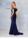 Clarisse Dress 3847 Off Shoulder Side Illusion Gown | 2 Colors | Prom 2019