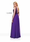 Clarisse Dress 3779 Sparkling Chiffon A-Line Gown | 2 Colors | Prom 2019