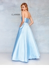 Clarisse 3739 Mikado Strapless Ball Gown | 5 Colors | Prom 2019