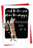 Humorous Merry Christmas Card From NobleWorksInc.com - Blame The Doggies