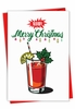 Creative Merry Christmas Card From NobleWorksInc.com - Bloody Merry