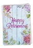 Stylish Retirement Card From NobleWorksInc.com - Blooming Driftwood - Retiree