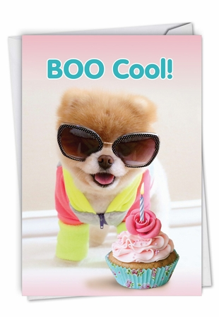 Humorous Birthday Card From NobleWorksInc.com - Boo Cool