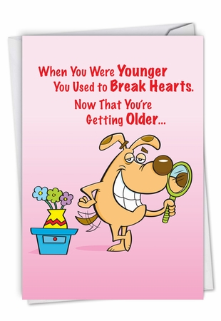 Humorous Birthday Card From NobleWorksInc.com - Break Hearts