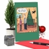 Humorous Merry Christmas Card From NobleWorksInc.com - Cat-Proof Tree