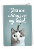 Stylish Miss You Card From NobleWorksInc.com - Cat-Sent Greetings