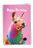 Stylish Birthday Card From NobleWorksInc.com - Colorful Creatures