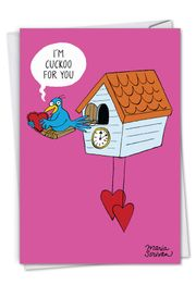 Cuckoo For You Card