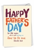 Funny Father's Day Card From NobleWorksInc.com - Dad Teacher