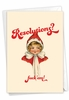 Humorous New Year Card From NobleWorksInc.com - Eff The Resolutions