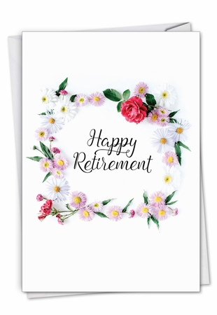 Creative Retirement Card From NobleWorksInc.com - Elegant Retirement