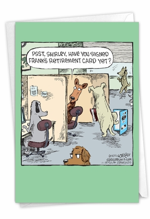 Hysterical Retirement Card From NobleWorksInc.com - Frank's Card