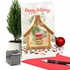 Funny Merry Christmas Card From NobleWorksInc.com - Ginger Bread House