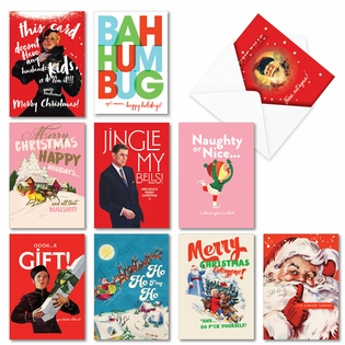 Humorous Merry Christmas Assorted Cards From NobleWorksInc.com - Happy O+D Holidays