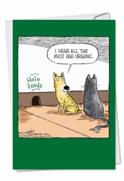 Hole Foods Funny Birthday Card by NobleWorks and Dave Coverly