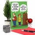Humorous Merry Christmas Card From NobleWorksInc.com - Holiday Newsletter