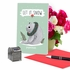 Hilarious Merry Christmas Card From NobleWorksInc.com - Holiday Yoganimals-Seal