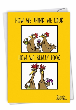 Humorous Birthday Card From NobleWorksInc.com - How We Look