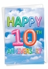 Creative Milestone Anniversary Card From NobleWorksInc.com - Inflated Messages - 10