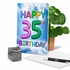 Hilarious Milestone Birthday Card From NobleWorksInc.com - Inflated Messages - 35