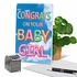 Creative Baby Card From NobleWorksInc.com - Inflated Messages - Baby Girl