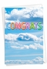Creative Congratulations Card From NobleWorksInc.com - Inflated Messages - Congrats