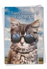 Creative Birthday Card From NobleWorksInc.com - Kool Kitties - Brown