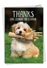 Hilarious Thank You Card From NobleWorksInc.com - Lending A Hand
