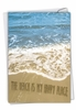 Stylish Blank Card From NobleWorksInc.com - Life's a Beach