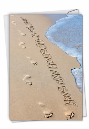 Creative Blank Card From NobleWorksInc.com - Life's a Beach