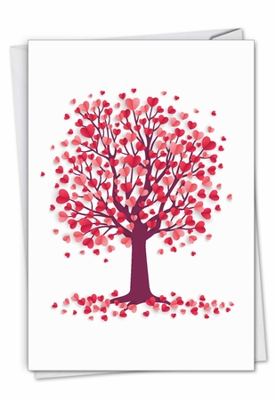Creative Valentine's Day Card From NobleWorksInc.com - Love Trees