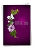 Creative Thank You Card From NobleWorksInc.com - Many Thanks - Purple