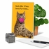 Hilarious Miss You Card From NobleWorksInc.com - Masked Cats - Tabby