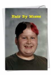 Moses Hair Card