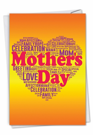 Stylish Mother's Day Card From NobleWorksInc.com - Mother's Words