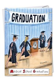 MSG Funny Graduation Card by NobleWorks and Reynolds
