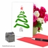 Stylish Merry Christmas Card From NobleWorksInc.com - New Year's Tree