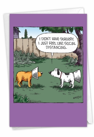 Funny Get Well Card From NobleWorksInc.com - No Surgery